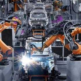 Car production line machinery